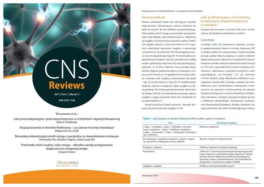 CNS REVIEWS