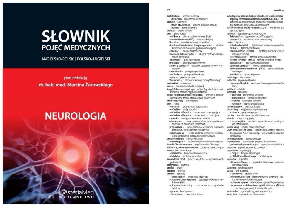SŁOWNIK – NEUROLOGIA